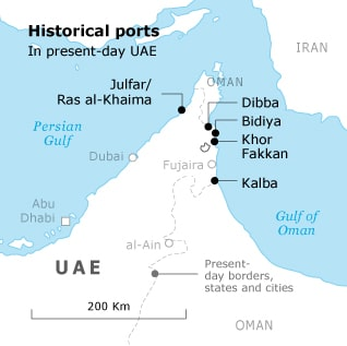Historical ports