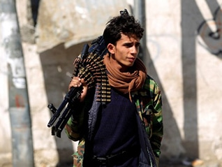 Rebel Fighter Yemen