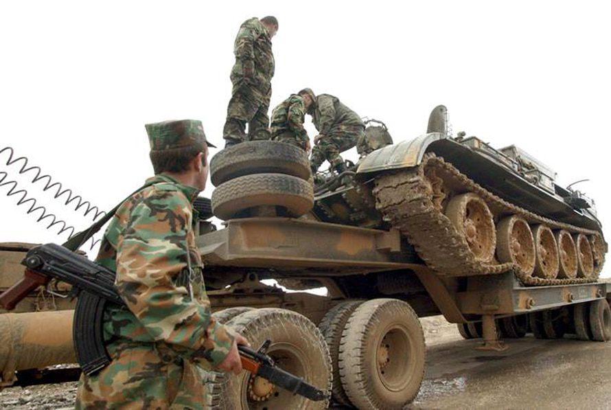 سوريا لبنان الجيش السوري
