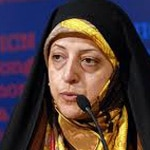 Masoumeh Ebtekar, former Vice President, leading figure of the Democratic Reformists