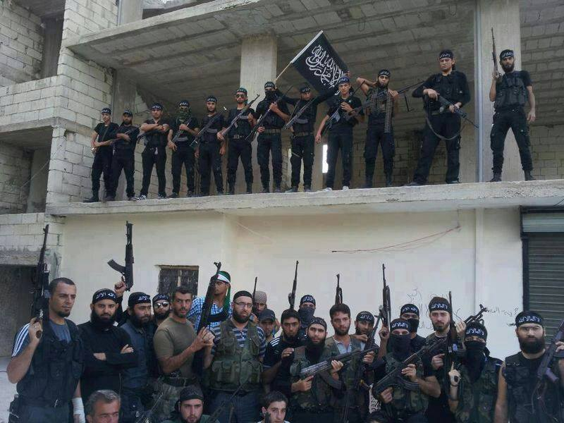 ISIS militants who attacked the Lebanese army and civilians in Arsal, August 2014 / Photo Arsal News
