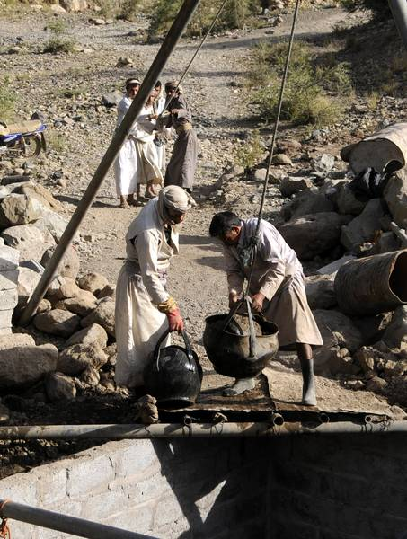 Economy Yemen - Farmers Water Well