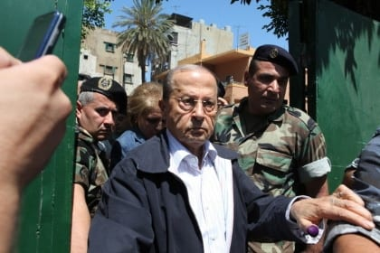 Michel Aoun 2009 elections