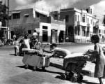 Arab families leaving Jaffa in 1948