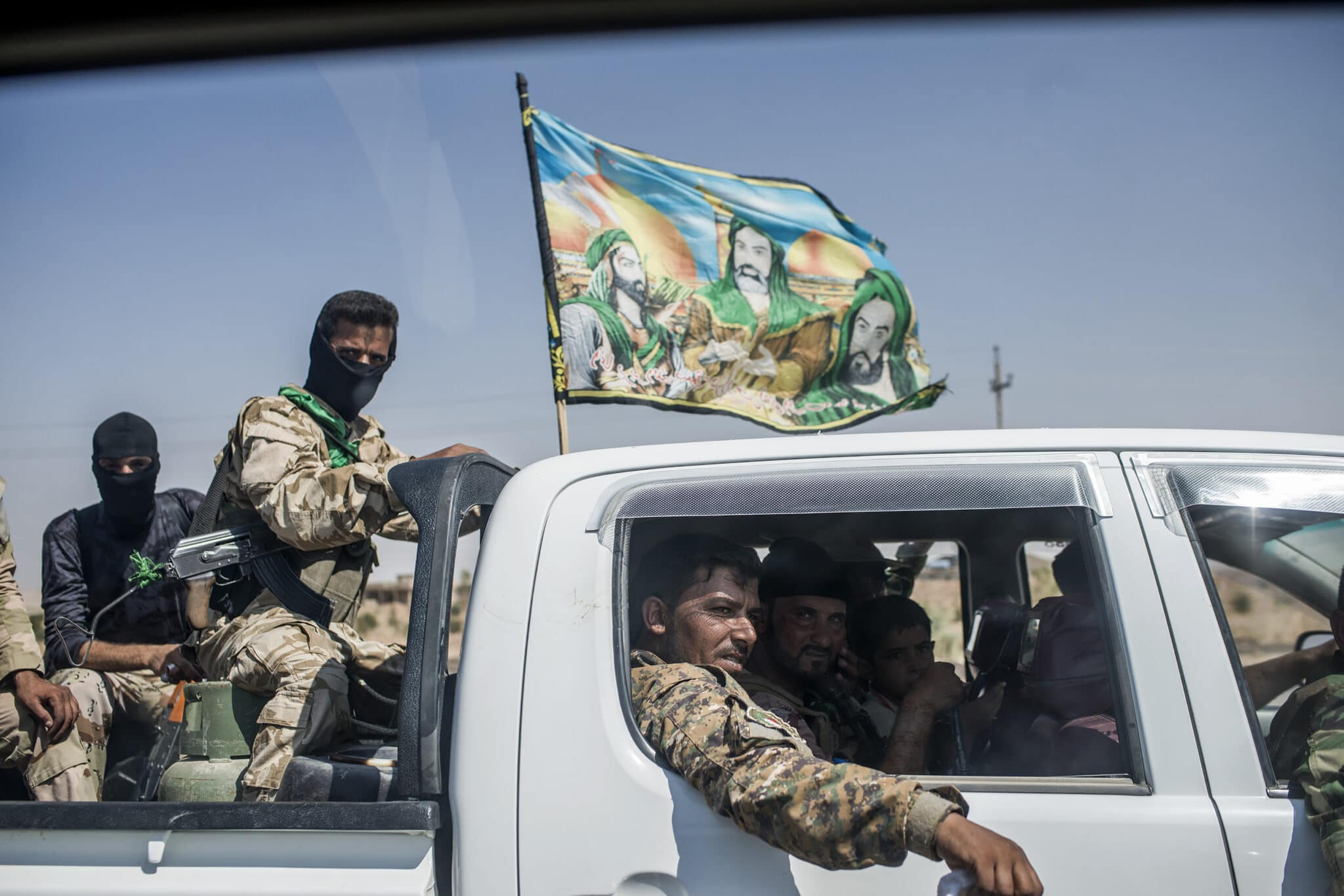 Shiite militiamen after helping free the town of Amirli in northern Iraq from an Islamic State siege.