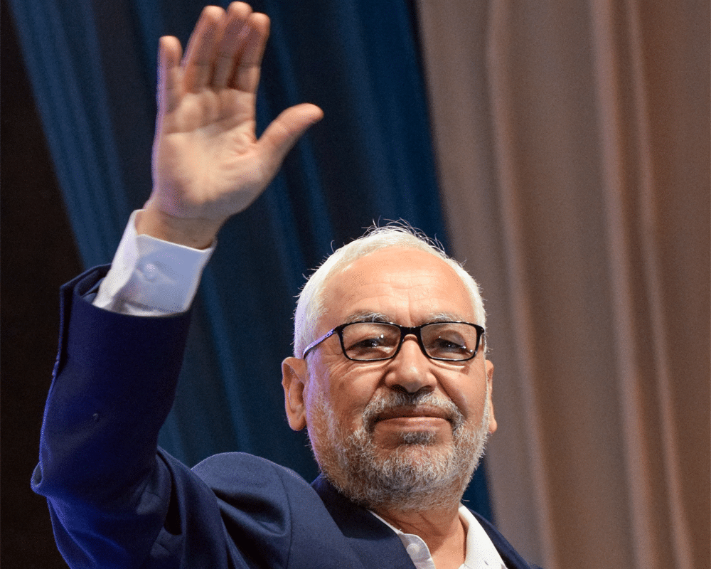 Rachid Ghannouchi / Photo Mehdi Chebil/Polaris