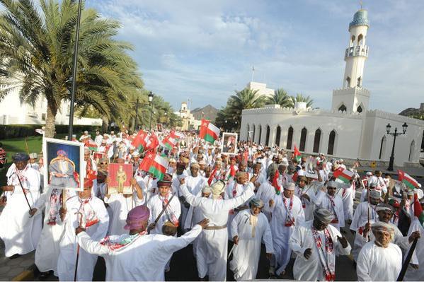 Return of Sultan Qaboos