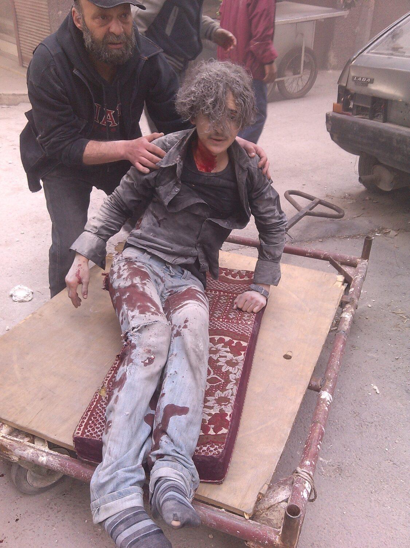 syria yarmouk palestinian refugees