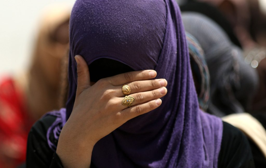 Iraq-displaced women in Iraq