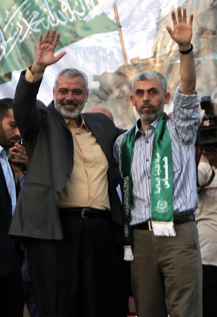 Palestine-faces- yahya alsinwar
