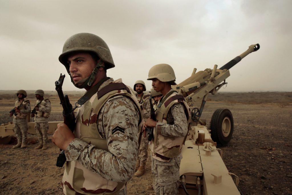 Saudi arabia- suado army