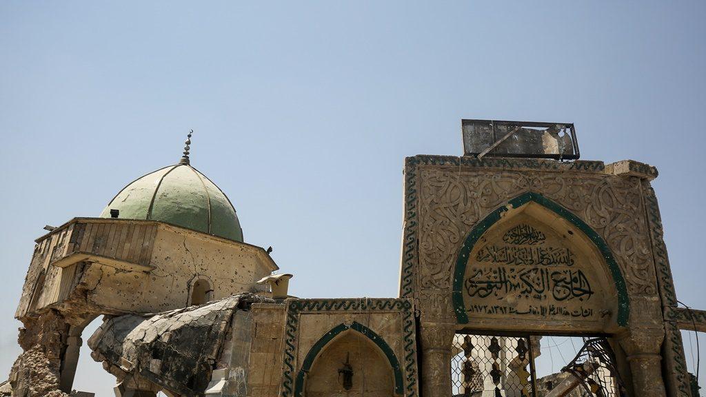 Iraq- Great Mosque of al-Nuri in Mosul