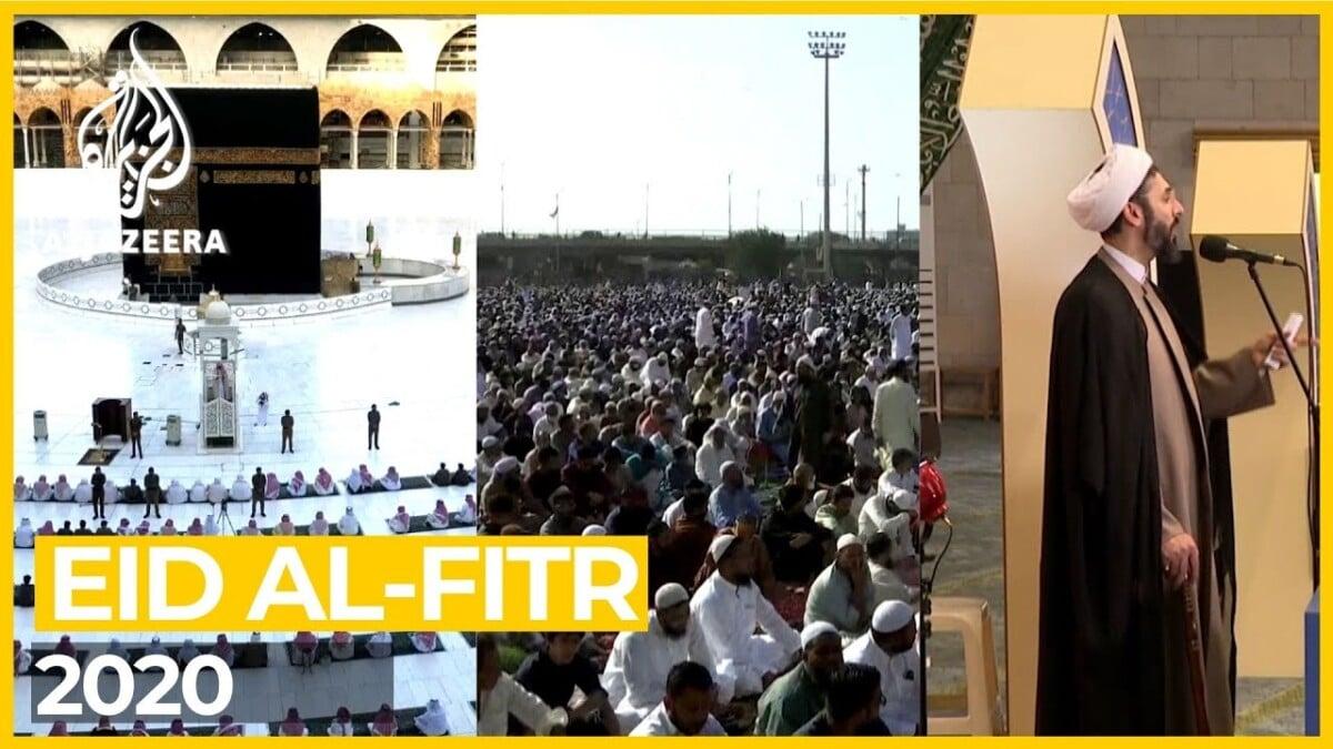 Eid al-Fitr 2020 in Mecca, Karachi and Tehran
