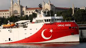 "urkey withdraws the exploration vessel "" Oruç Reis"" from the disputed area in the eastern Mediterranean"