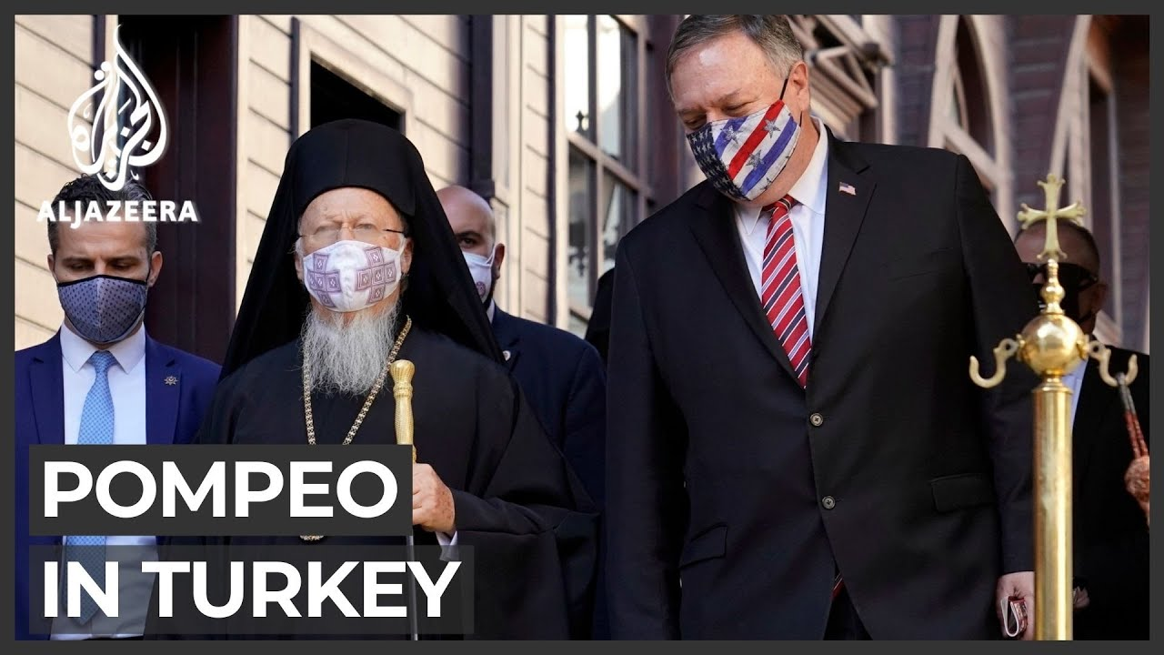 Pompeo foreign tour in Turkey
