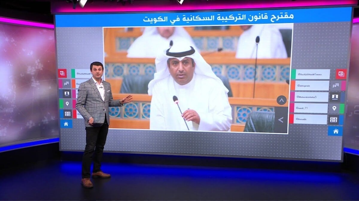 A legislative proposal to reduce the proportion of foreigners in Kuwait