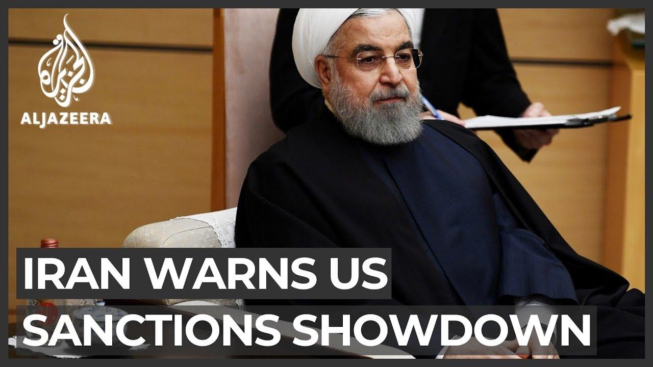 إيران توبخ الولايات المتحدة والعالم يرفض إعادة فرض العقوبات