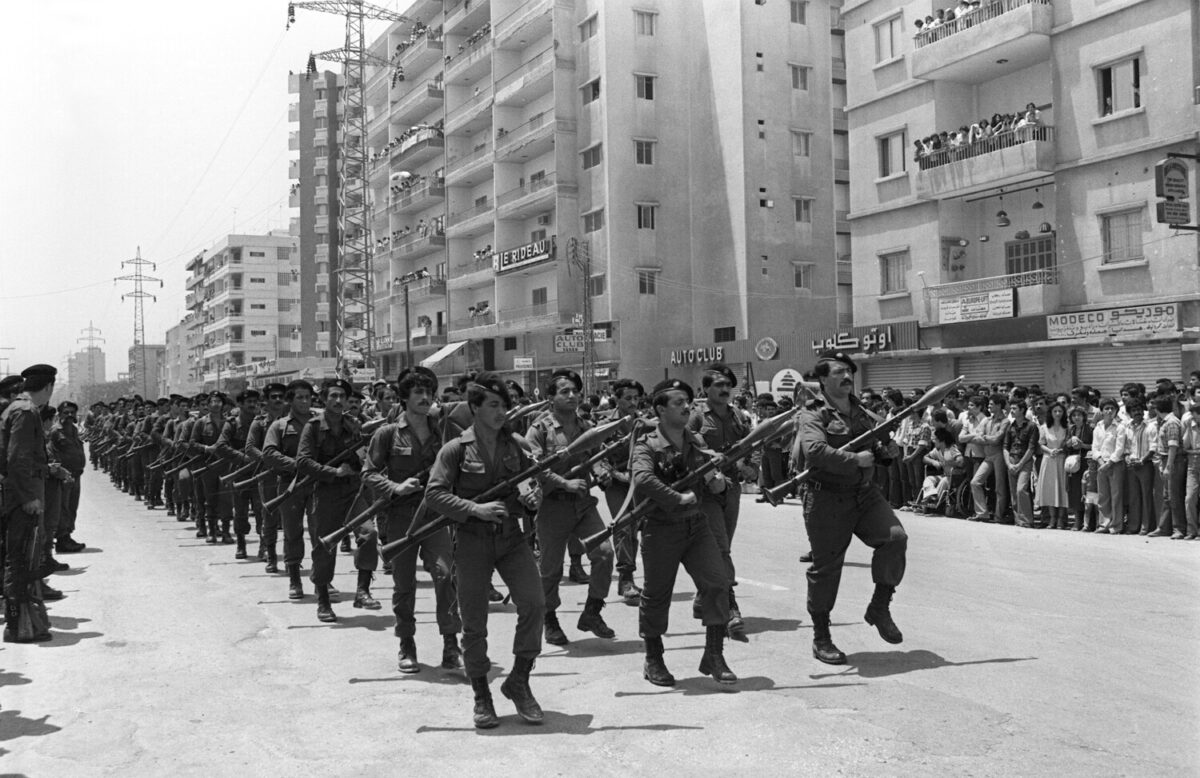 Reinforcement of Syrian Presence in Lebanon (1985-1988)
