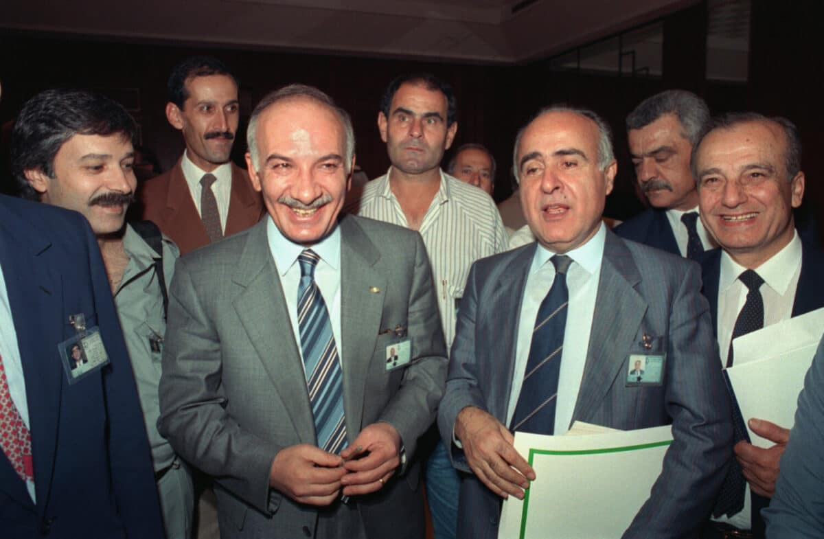 Lebanon: The Taif Agreement in 1989