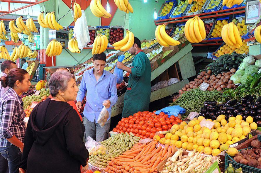 Market in Bahlil / Photo Fanack