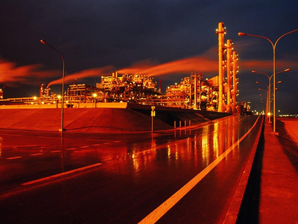 الجغرافيا الكويت حقول النفط