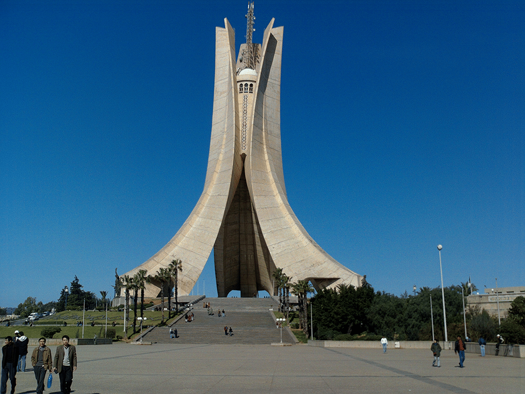 Detail of the Martyr's Monument, Algiers