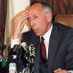 civil war Mohamed Boudiaf, moments before his assassination, 29 June 1992