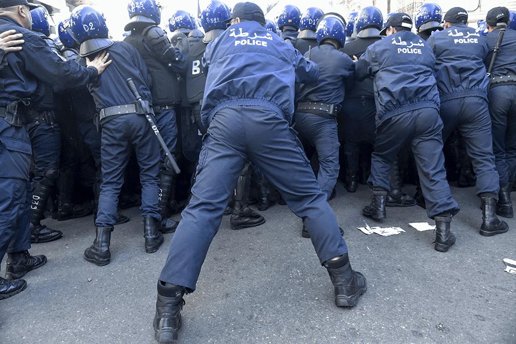 Algerian police