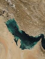 صورة فضائية لشط العرب