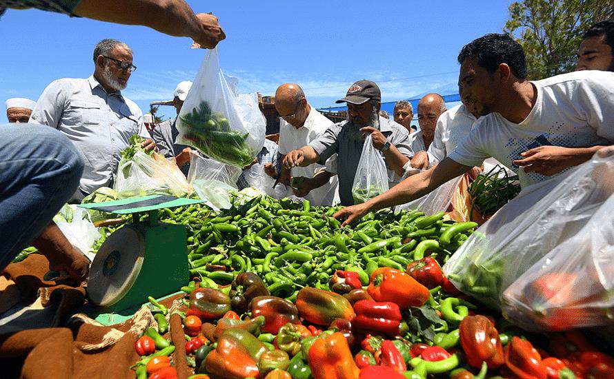 سوق للمواد الغذائية