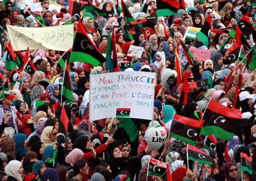 المجتمع الليبي