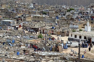 Casablanca slum