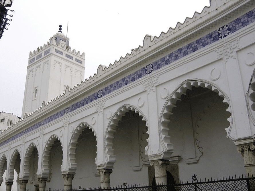 The Great Mosque of Algiers, the second oldest in Algeria, built in 1097