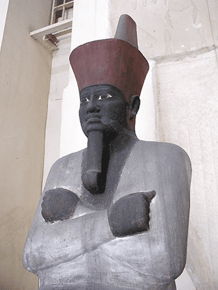 Mentuhotep II, regarded as founder of the Middle Kingdom (2055-2004 BCE)