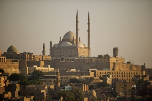 Mohammed Ali Mosque in Cairo, dating from the Mamluk era.