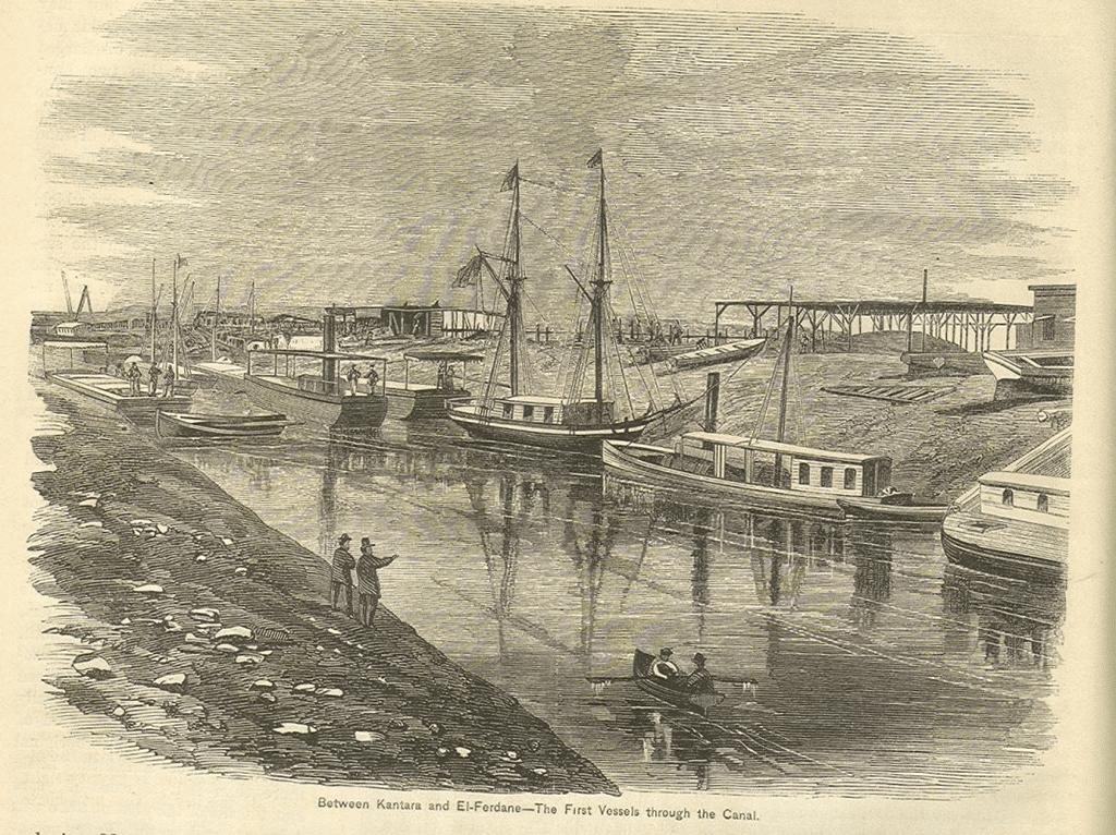 Suez Canal, 1869
