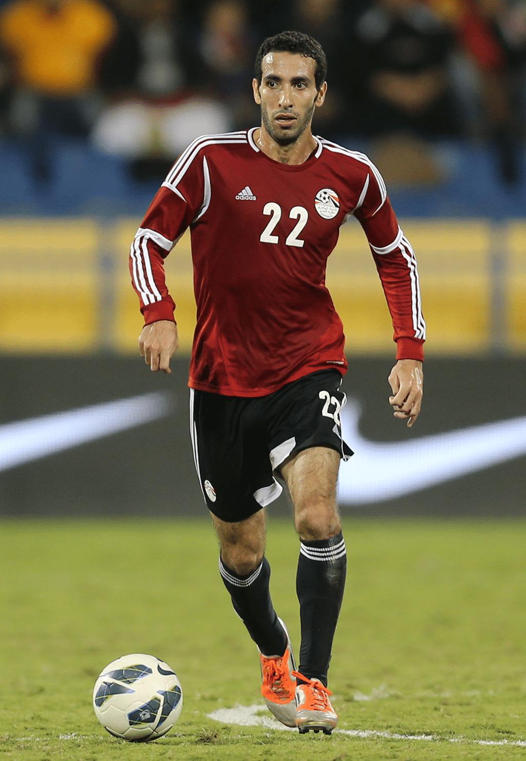 Al-Ahly player Mohamed Abu Treka