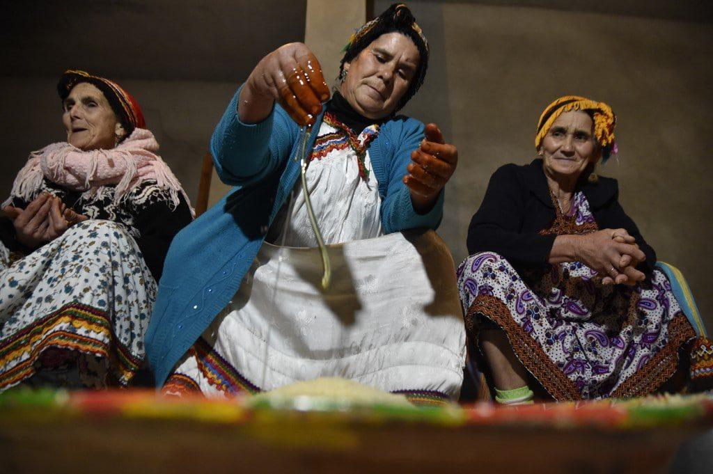 نساء من منطقة القبائل