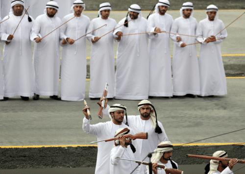 الرقص الخليجي