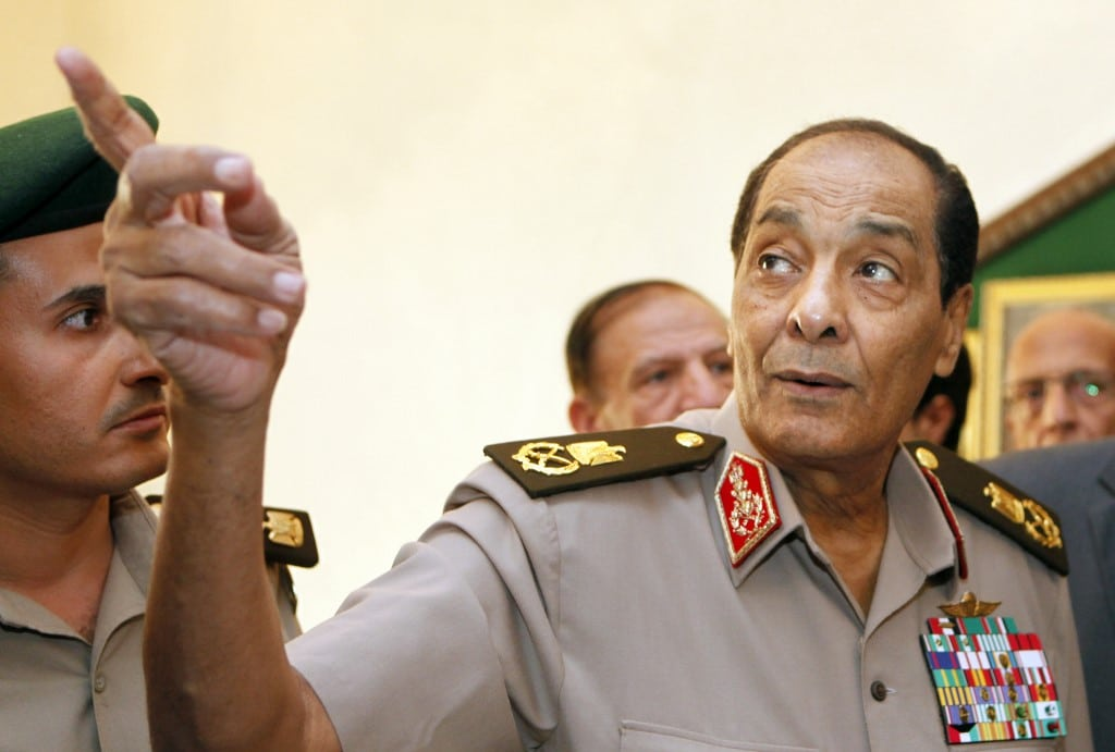 SCAF leader / Field Marshall Mohamed Hussein Tantawi