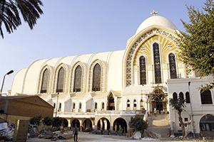 كاتدرائية القديس مرقس في القاهرة الأكبر في الشرق الأوسط