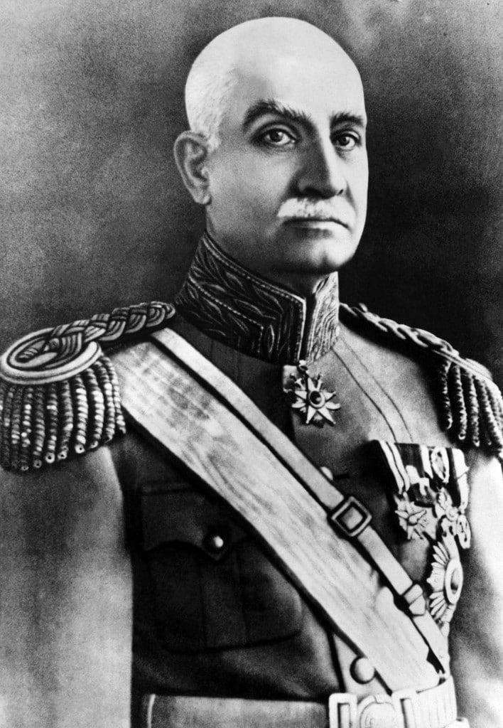 Deposed Reza Shah Pavlavi