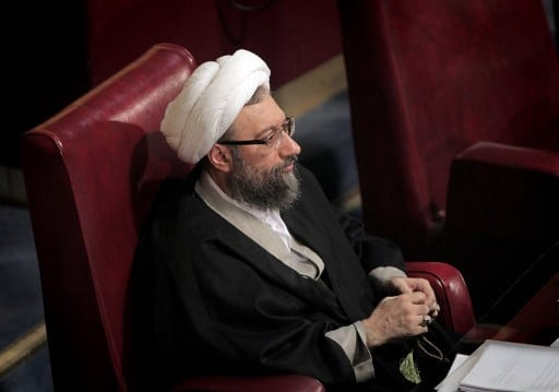 Chief of Justice Hojatolislam Sadeq Larijani