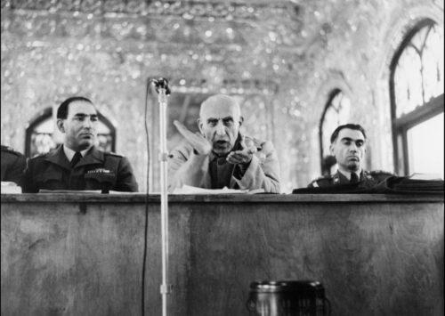 Mohammad Reza Shah Pahlavi and Mosaddeq