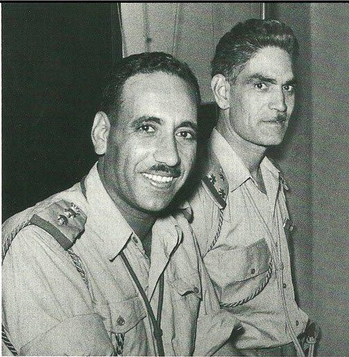 Abdul Salam Arif and Abd al-Karim Qasim