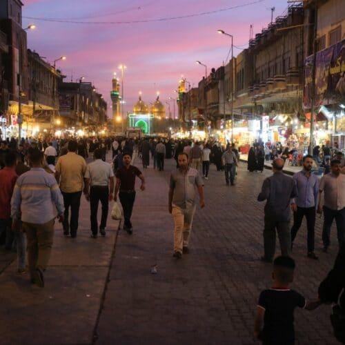 السكان في العراق