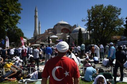 السكان في تركيا