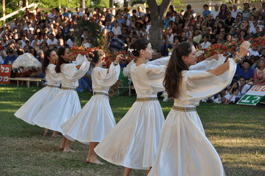 Traditional folk dance Israel