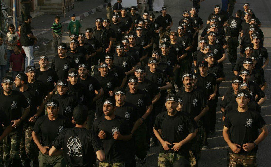 مقاتلون من الجهاد الإسلامي يتدربون