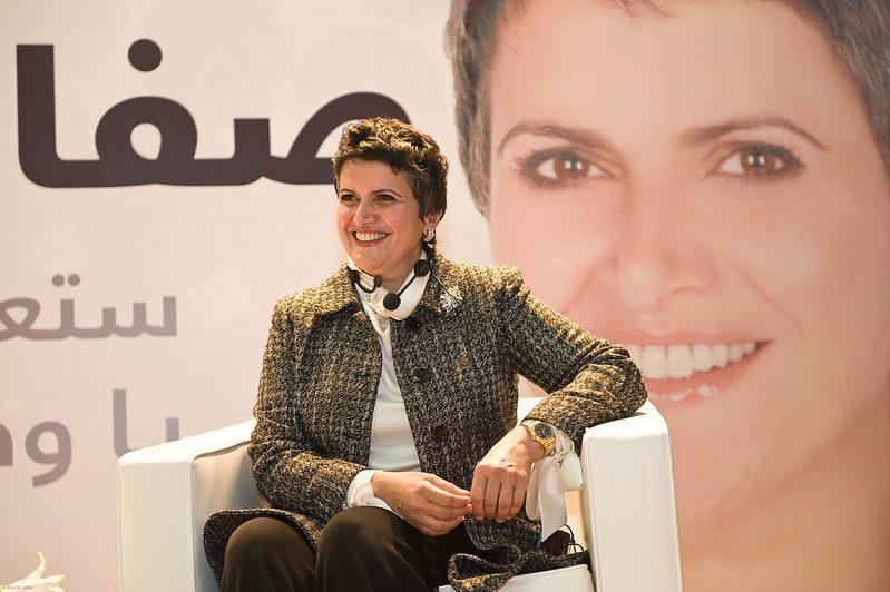 صفاء الهاشم , إحدى النساء المنتخبة في المجلس